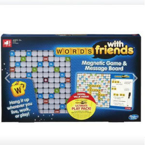 NEW HASBRO Words With Friends Magnetic Game